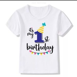Other - Birthday t-shirt brand new